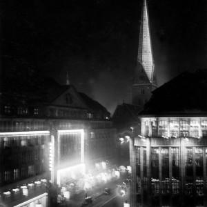lichterwoche dezember 1928 - hamburg petrikirche